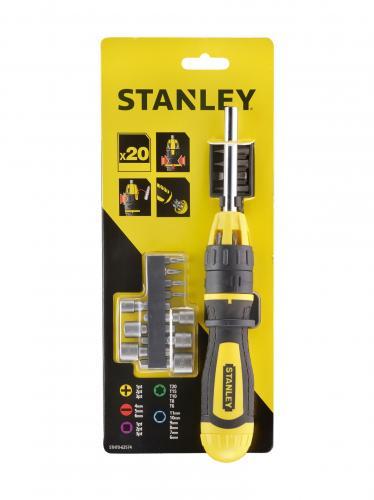 Set surubelnita cu clichet cu 20 varfuri, STHT0-62574 Stanley 4
