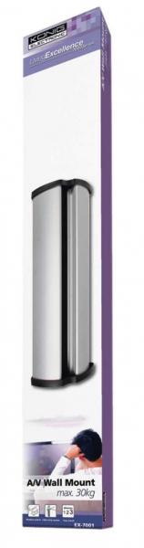 Sistem dispozitive de sustinere pentru aparatura A/V,63 cm, KONIG 2