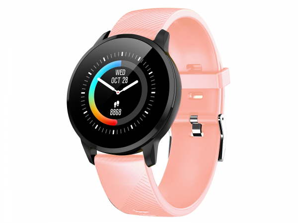 Smart Watch T-FIT 220 HB, roz, puls, tensiune, Trevi 0