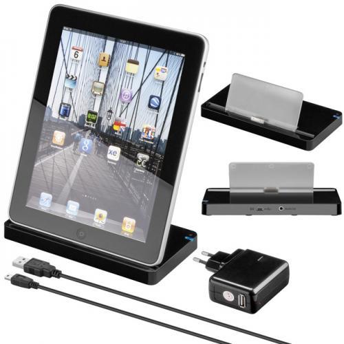 Statie de andocare negru pentru iPad 2, iPad 3 0