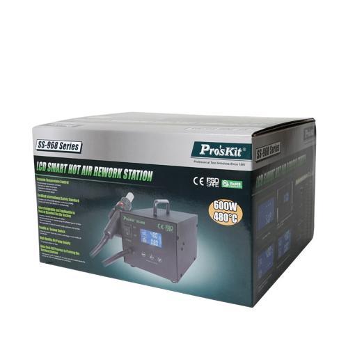 Statie de lipit cu aer cald si afisaj LCD, Pro'sKit 1