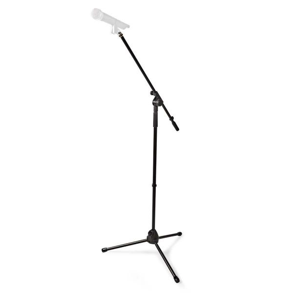 Suport microfon reglabil 95-165cm, negru, Nedis 0