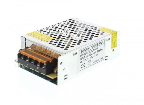 Sursa in comutatie AC-DC 60W 12V 5.0A WELL [0]