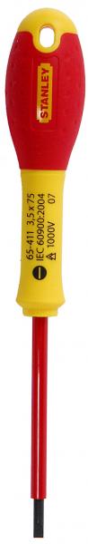 Surubelnita izolata FatMax 1000V, 3.5x75mm, 0-65-411 Stanley [0]