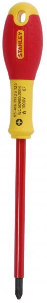 Surubelnita izolata FatMax 1000V, PH2 125mm, 0-65-416 Stanley [0]