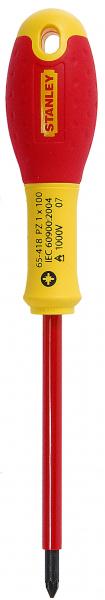 Surubelnita izolata FatMax 1000V, PZ1 100mm, 0-65-418 Stanley 0