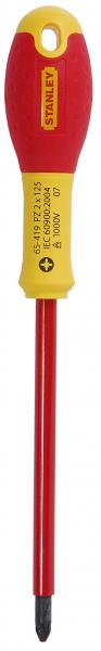 Surubelnita izolata FatMax 1000V, PZ2 125mm, 0-65-419 Stanley [0]