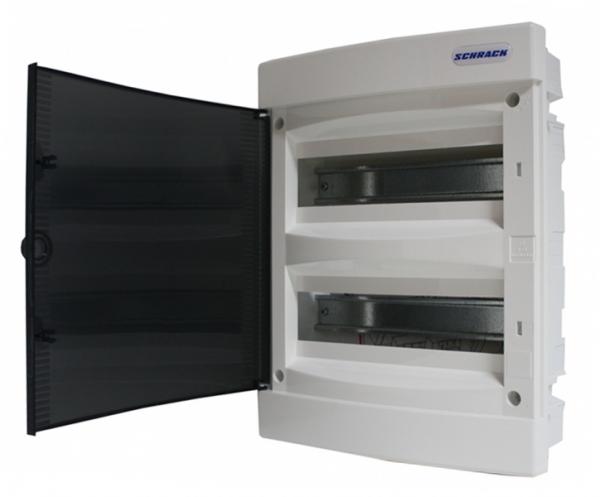 Tablou electric Schrack TOPO BK080002--, incastrat, 24 module, 2 randuri 0