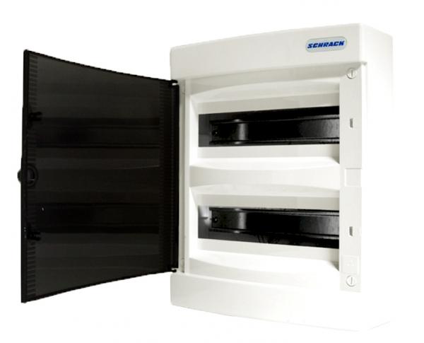 Tablou electric Schrack TOPO BK080102--, aparent, 24 module, 2 randuri 0