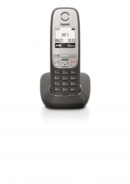 Telefon fara fir DECT Gigaset A415 negru 0