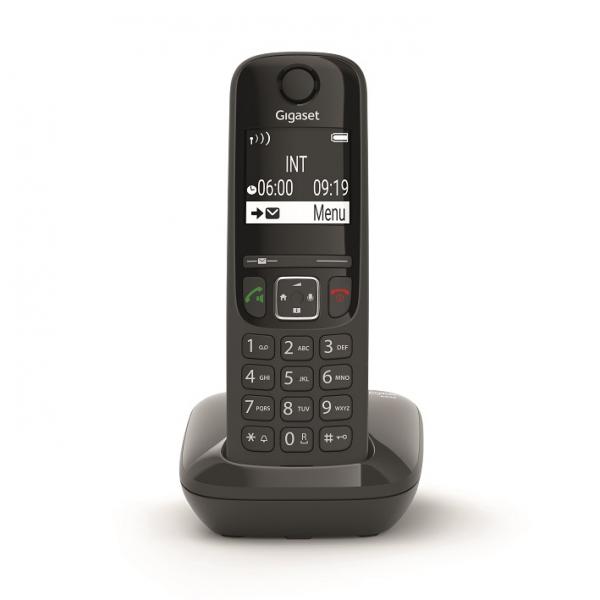 Telefon fara fir DECT Gigaset AS690 negru 0