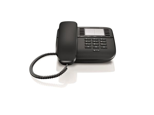 Telefon fix analogic Gigaset DA510 negru 0