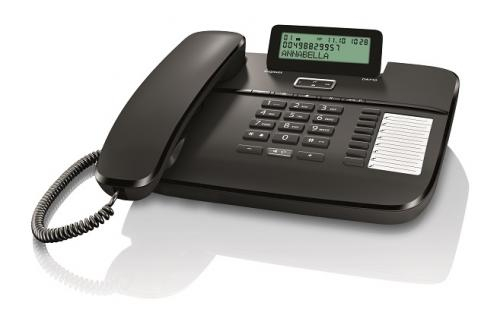 Telefon fix analogic Gigaset DA710 negru 2