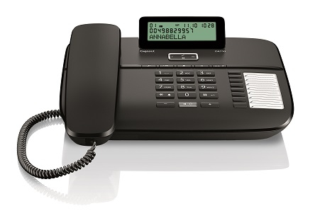 Telefon fix analogic Gigaset DA710 negru 0