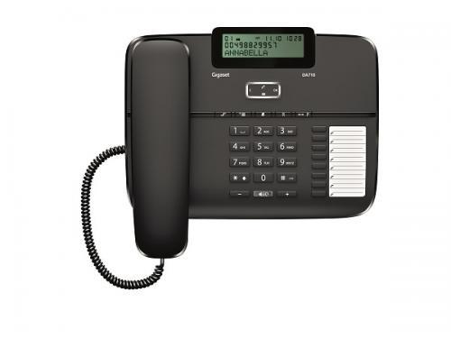 Telefon fix analogic Gigaset DA710 negru 1