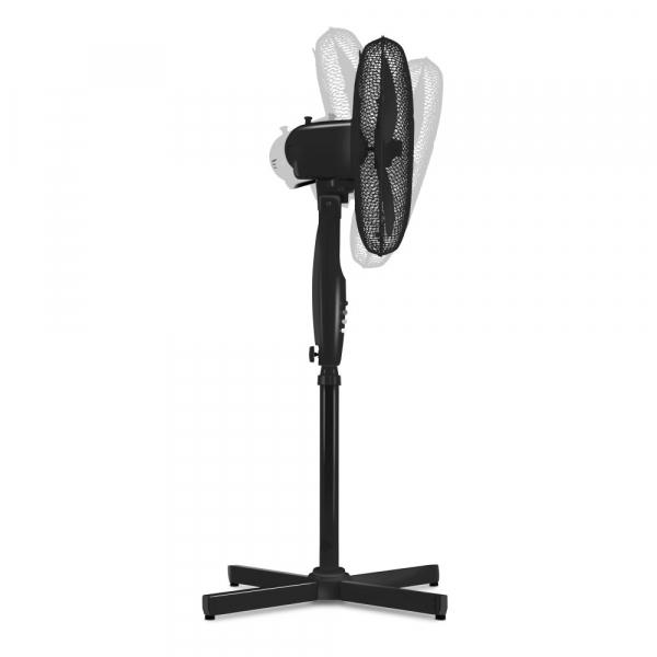 Ventilator Cu Picior Si Telecomanda, Diametru 43 Cm, Negru 3