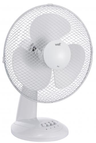 Ventilator De Masa, Diametru 34 cm, Alb [0]