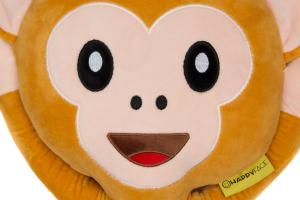 Perna decorativa Emoji Maimuta Happy Face3