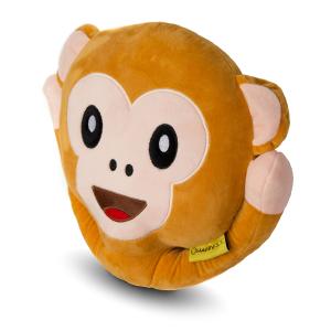 Perna decorativa Emoji Maimuta Happy Face1