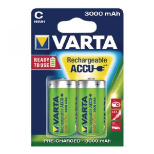 Acumulator R14 (C) 3000mAh Ready2Use 2buc/blister Varta3