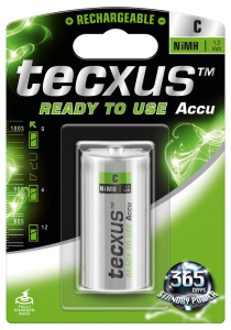 Acumulator R14 (C) NiMH 4500mAh Ready to use 1buc/blister Texus [0]