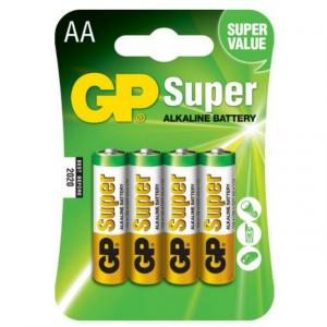 Baterie Alcalina Super GP R6 (AA), 4 buc/ blister0