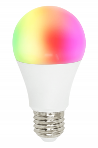 Bec Inteligent Smart LED WiFi, E27, 8W,  reglabil, Lumina Alb/Calda/Multicolor0