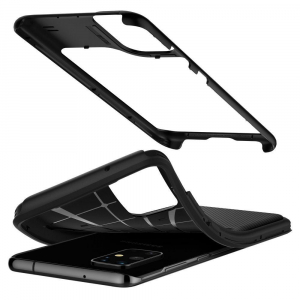 Carcasa Pentru Samsung Galaxy S20 Ultra Spigen Hybrid NX, Negru2