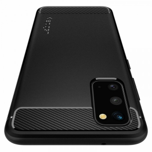 Carcasa Pentru Samsung Galaxy S20 Ultra Spigen Rugged Armor, Negru [4]