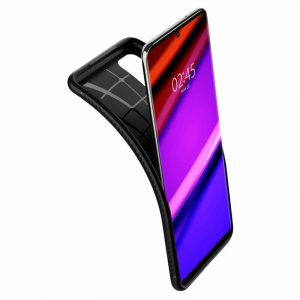 Carcasa Pentru Samsung Galaxy S20 Plus Spigen Rugged Armor, Negru [2]