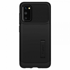 Carcasa Pentru Samsung Galaxy S20 Ultra Spigen Slim Armor, Negru [2]