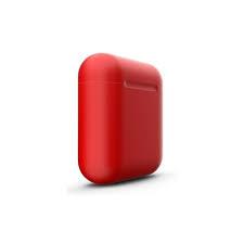 Casti Bluetooth Wireless Stereo i12 Fara Fir Compatibile cu Apple si Android, Rosu2