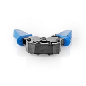 Cleste de sertizare RJ45 / RJ11 albastru Nedis [3]