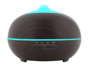 Difuzor uleiuri esentiale, umidificator aromaterapie, ultrasunete cu telecomanda 300 ml, mahon0