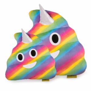 Jucarie de Plus Rahat Unicorn Curcubeu Multicolor Emoji0