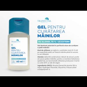Gel Dezinfectant Antibacterian Transivtal cu 70% Alcool 60ml1