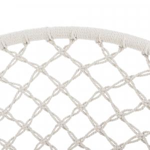 Hamac scaun ABLS-6003, 140 cm, otel/bumbac/poliester, crem4