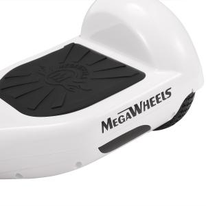 Hoverboard Electric , Megawheels, Alb, Autonomie 15 km, Viteza max. 10km/H3
