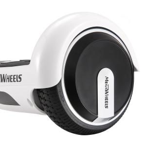 Hoverboard Electric , Megawheels, Alb, Autonomie 15 km, Viteza max. 10km/H6