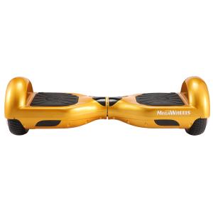 Hoverboard Electric , Megawheels, Auriu / Gold , Autonomie 15 km, Viteza max. 10km/H0