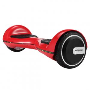 Hoverboard Electric , Megawheels, Rosu, Autonomie 15 km, Viteza max. 10km/H0