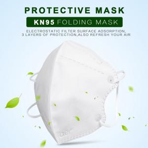 Masca KN95 Faciala Profesionala Set x5 Bucati cu 4 Straturi de Protectie2