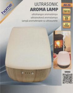 Lampa aromaterapie cu ultrasunete, capacitate 180ml, temporizator2