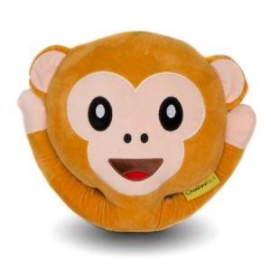 Perna decorativa Emoji Maimuta Happy Face0