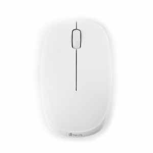 Mouse wireless USB 1000 dpi alb, Ngs [0]
