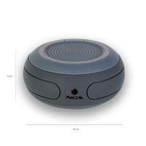 Boxa portabila cu Bluetooth rezistenta la apa negru Roller, NGS2