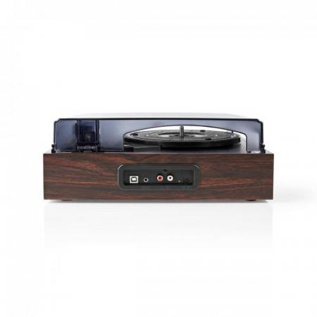 Pick-up Nedis, 18 W, convertor USB, RCA, AUX,  maro1