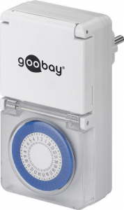 Priza programabila mecanica pentru exterior Goobay [0]
