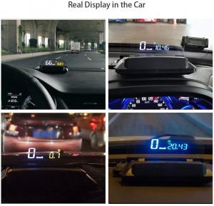 "Proiector informatii de bord pe parbriz, Head-Up Display auto 5"" Vision Well4"