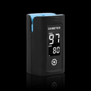 Pulsoximetru profesional pentru deget masurare nivel saturatie oxigen sange + puls1